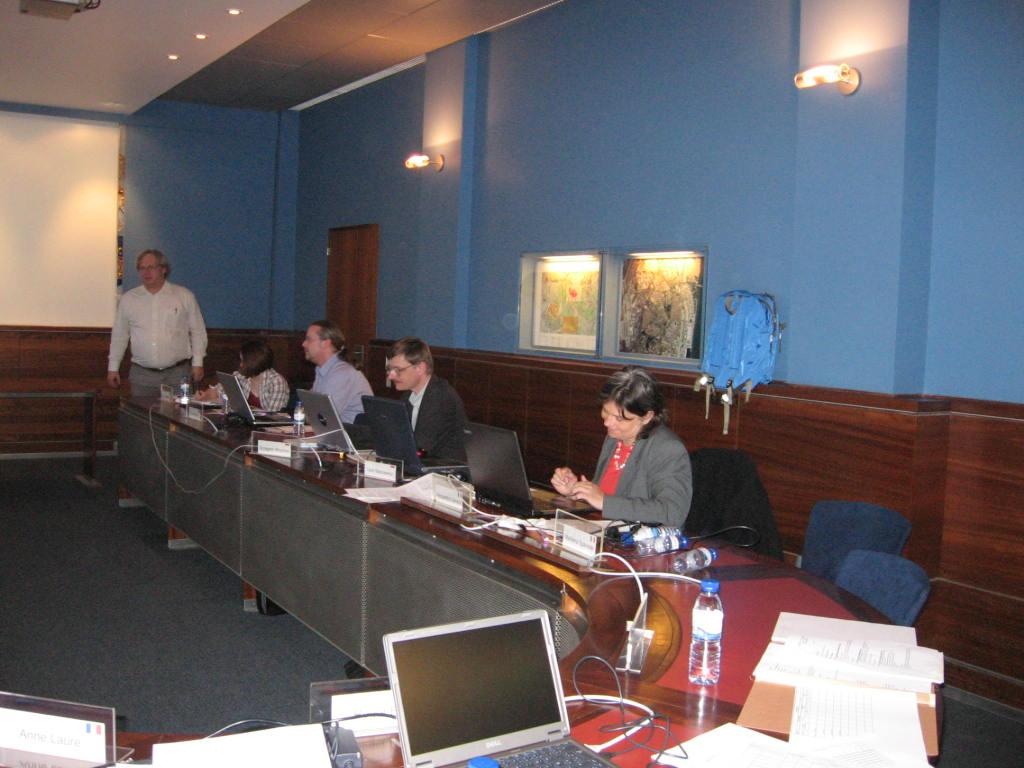 4th PCC Meeting at IGeoE - Lisbon, Portugal